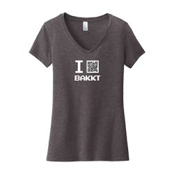 IE V-Neck T-Shirt-District-Bakkt-Ladies Thumbnail