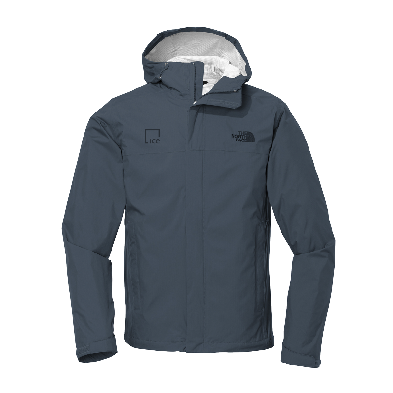 IE The North Face Rain Jacket-ICE-Men's